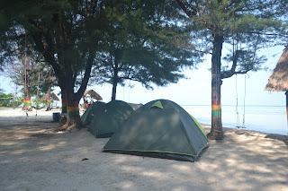 Pantai Bintang Pulau Pari Kepulauan Seribu bersama gtgaid