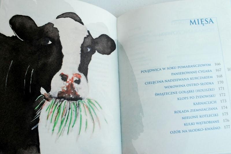 Spis treści rozdziału poświęconego daniom mięsnym