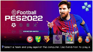 Download PES 2022 PPSSPP Promotion Teams/Clubs Update HD Graphics & English Commentary