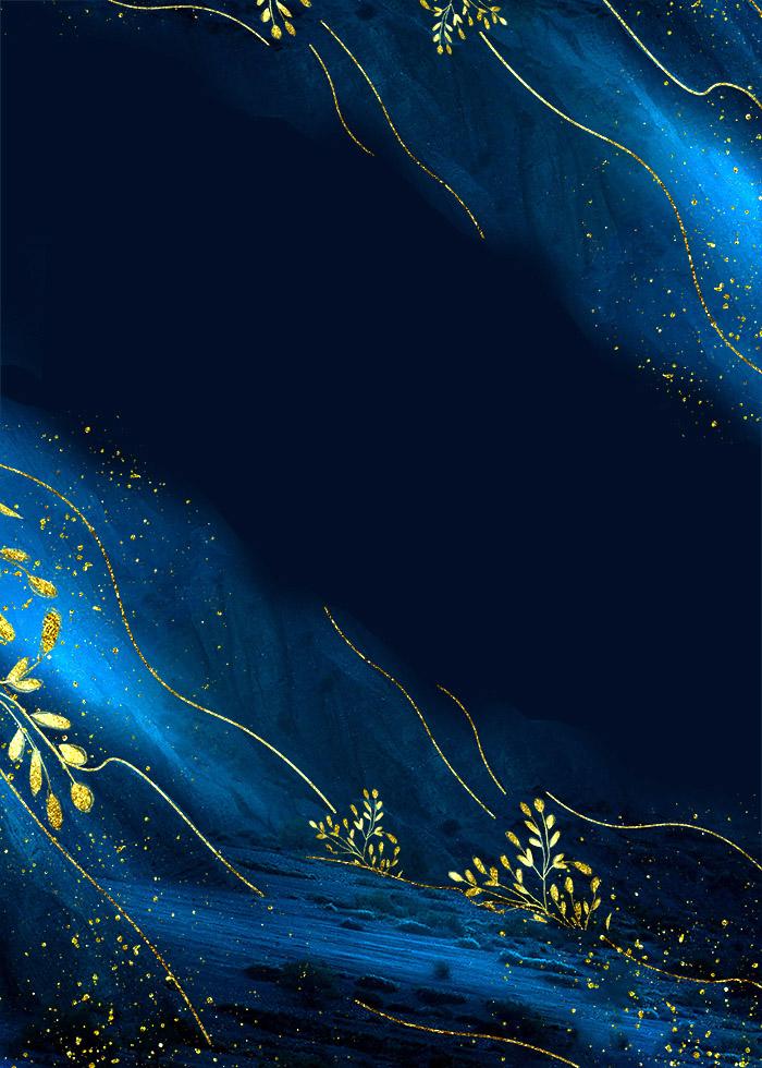 Dark Blue Textured Wedding Background Editable PSD