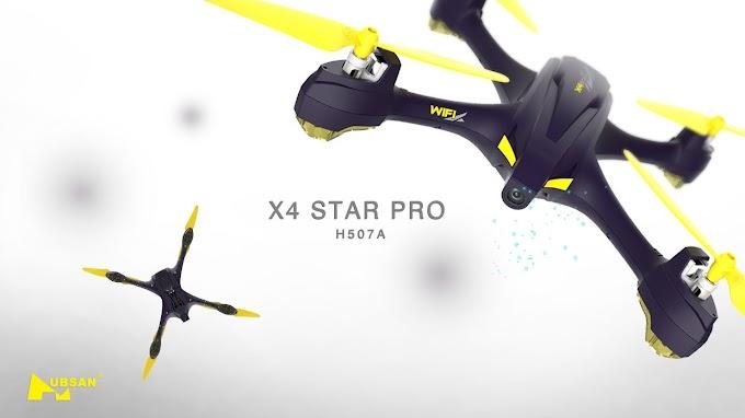 Sorteio Concorra a um Drone Hubsan X4 Star Pro!