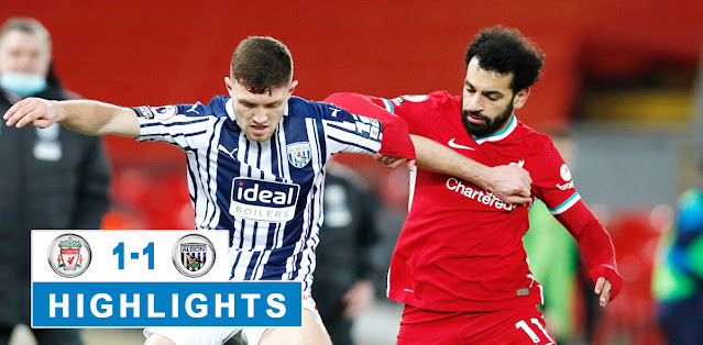 Liverpool vs West Bromwich Albion – Highlights