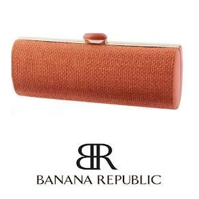 Queen Maxima style Banana Republic Clutch Bag