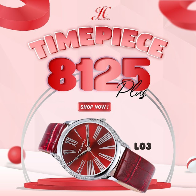 JIMS HONEY TIMEPIECE 8125 PLUS