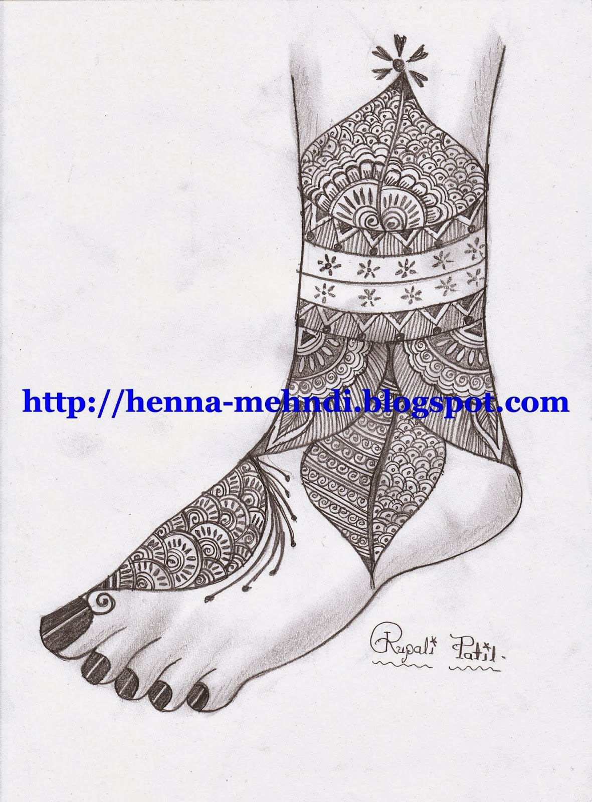 Henna Mehndi Design For Legs Feet Henna Mehndi Designs Body