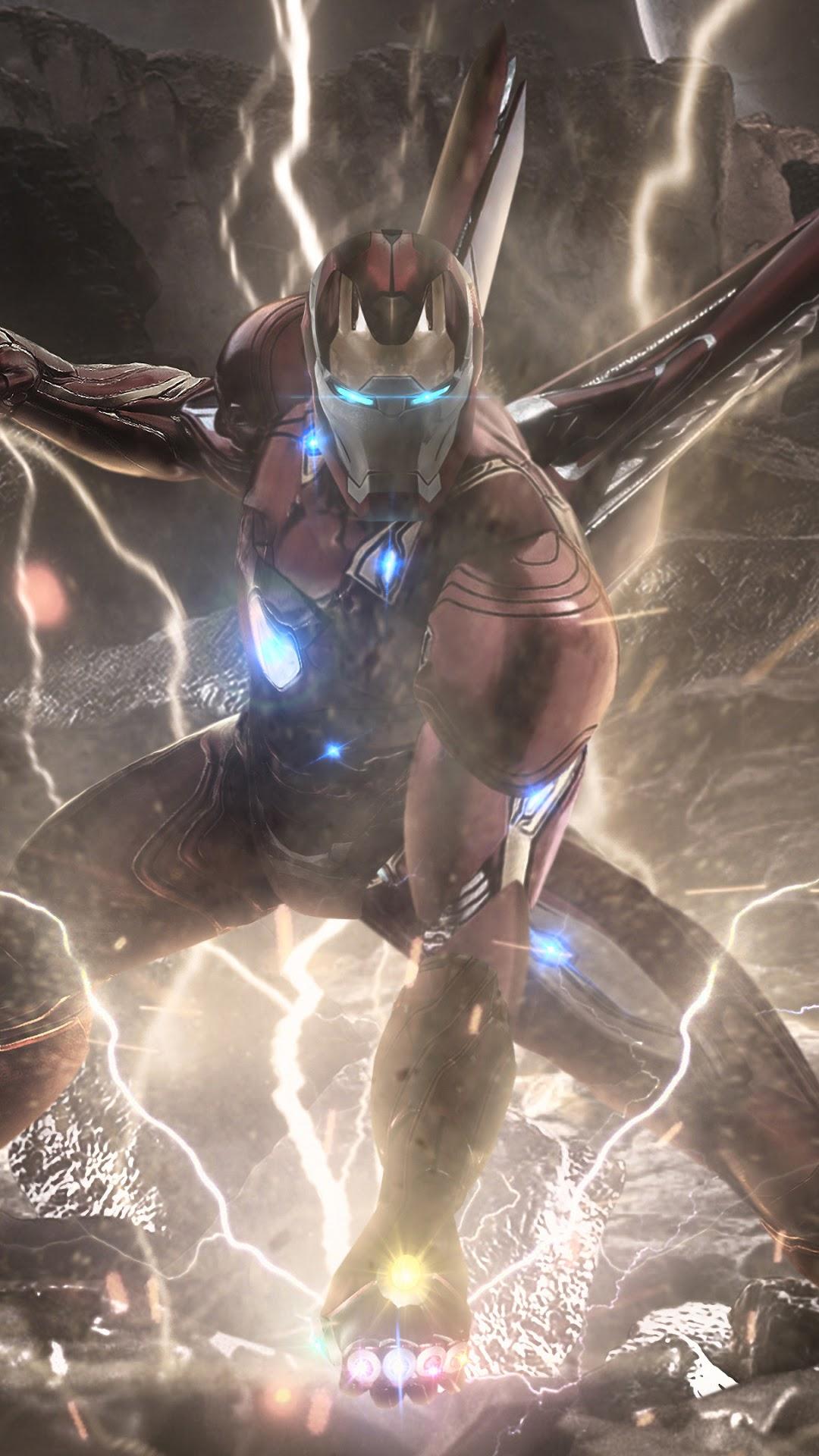 Iron Man Infinity Stones Avengers: Endgame 4K Wallpaper #23
