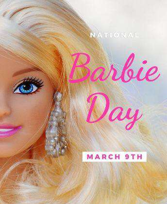 National Barbie Day Wishes Images
