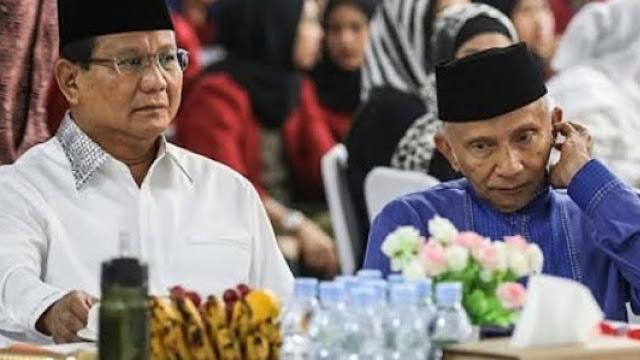Terima Tawaran Jadi Menteri Jokowi, Prabowo Sowan ke Amien Rais