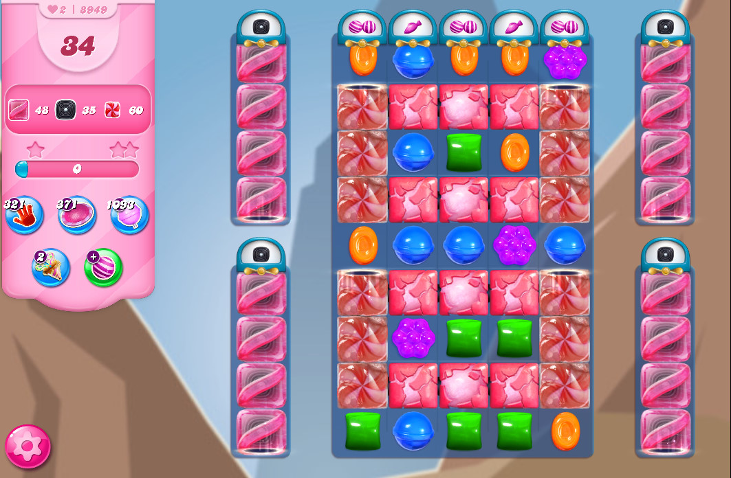 Candy Crush Saga level 8949