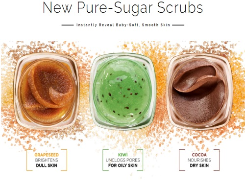 L'oreal Pure-Sugar Scrub Launch Contest