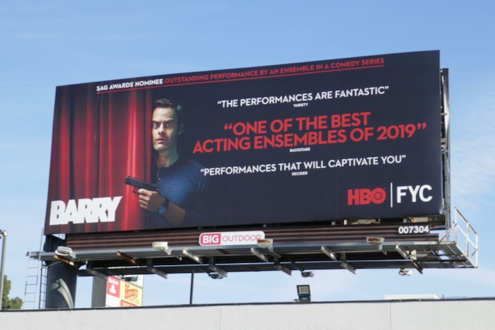 Barry season 2 SAG Awards nominee billboard