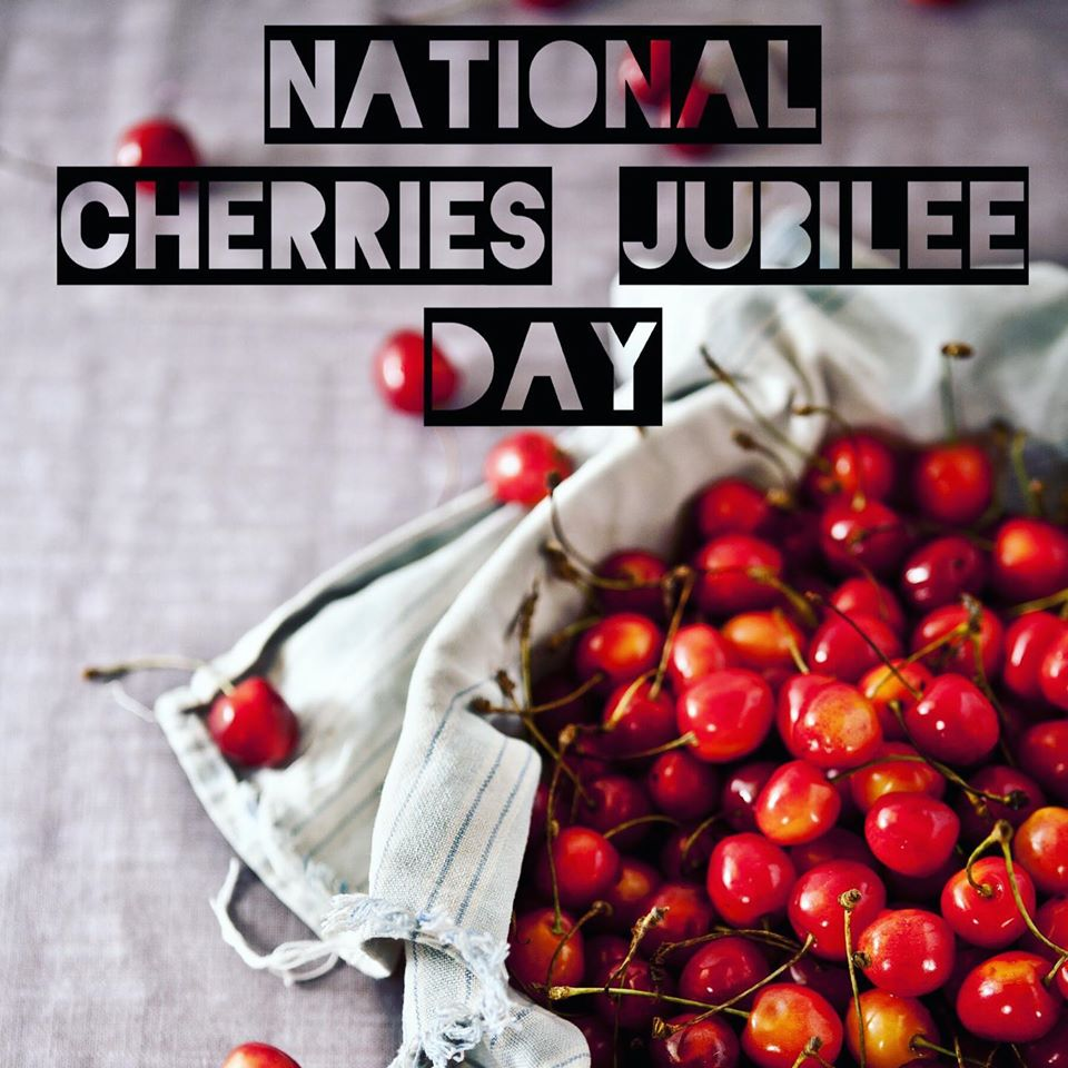 National Cherries Jubilee Day Wishes Unique Image