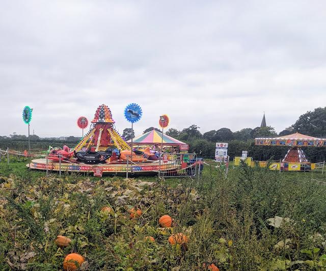 Fairground at Spilmans Farm
