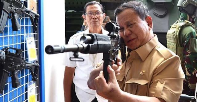 Menhan Prabowo: Sedapat Mungkin Alutsista Dibuat di Dalam Negeri