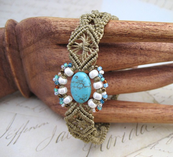 Beaded Micromacrame Jewelry By Knot Just Macrame The