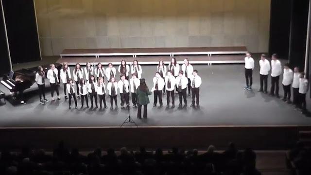 Η Παιδική - Νεανική Χορωδία Σαμοθράκης στο Μέγαρο Μουσικής Θεσσαλονίκης