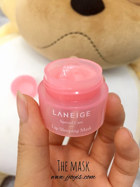mini laneige lip sleeping mask, lip treatment, chapped, cracked, dry lips, laneige special care review