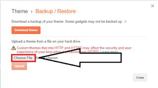 Safelink Blogger Template Upload