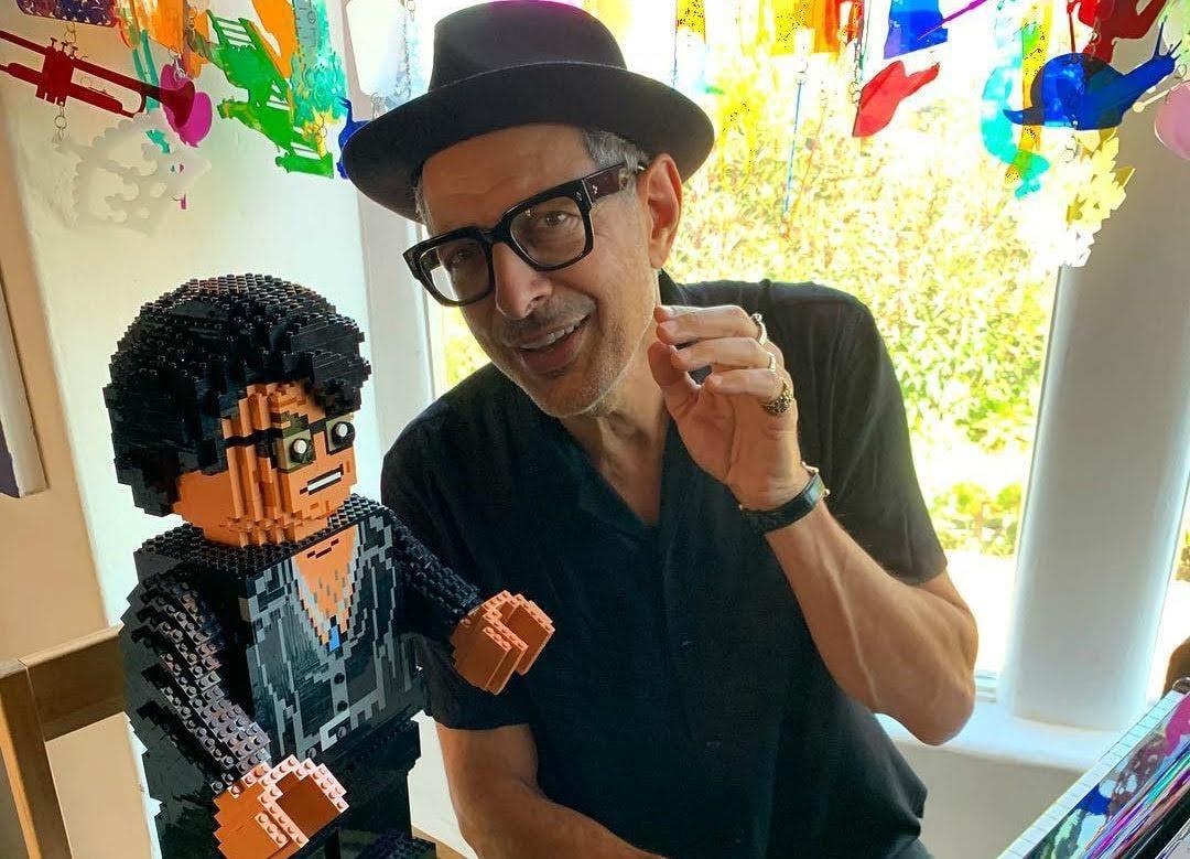 Jeff Goldblum and Lego Goldblum : ジェフ・ゴールドブラムとレゴ・ゴールドブラム