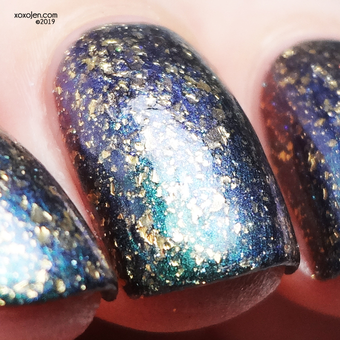 xoxoJen's swatch of KBShimmer: Beignet Done That