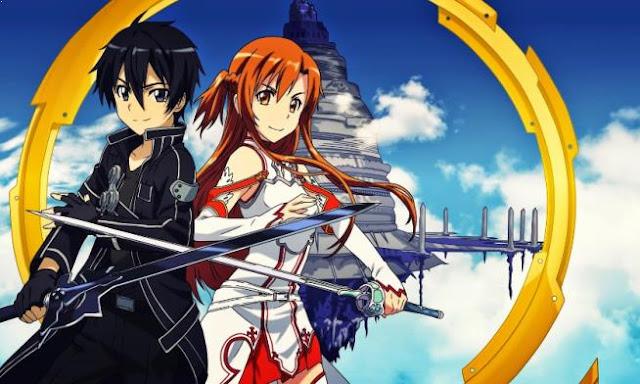Sword art Online - Best Fantasy Romance Anime list