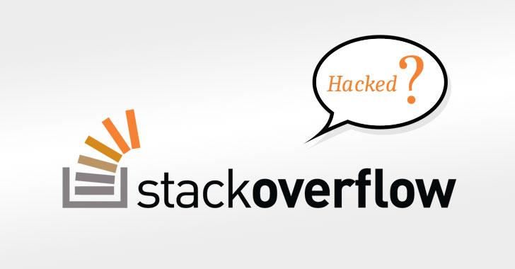 Violação de dados do StackOverflow