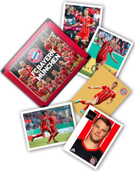 BAM1718 Sticker 106 Panini FC Bayern München 2017//18 Arjen Robben