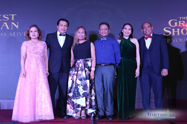 NLI executives, namely (left to right): Wilhelmina E. Fernando (VP for Corporate Services), Ferdinand M. Macabanti (General Manager), Aileen B. Morales (AVP for Sales Operations), Benigno A. Tatunay (CFO), Amytis S. Banaag (AVP for HRODA), and Paul D. Lamagna (AVP for Technical Management Group) gathers to lead the celebration of NorthPine's milestones in 2018.