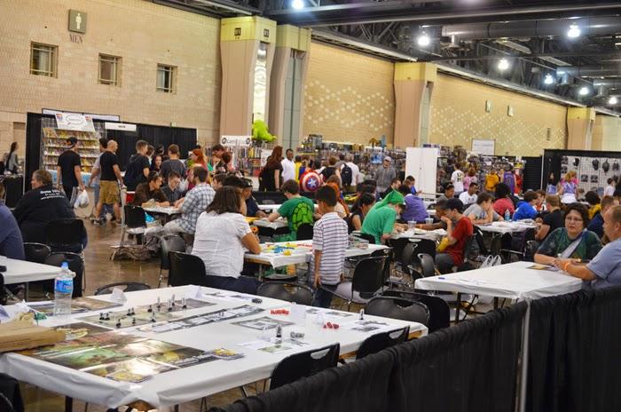 Gaming center at Wizard World Philadelphia 2014