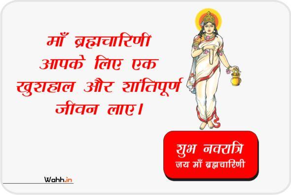 Navratri Maa Brahmacharini Status Posters