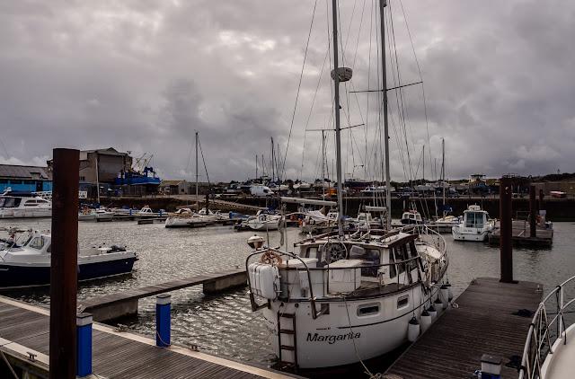 Photo of Thursday morning at Maryport Marina