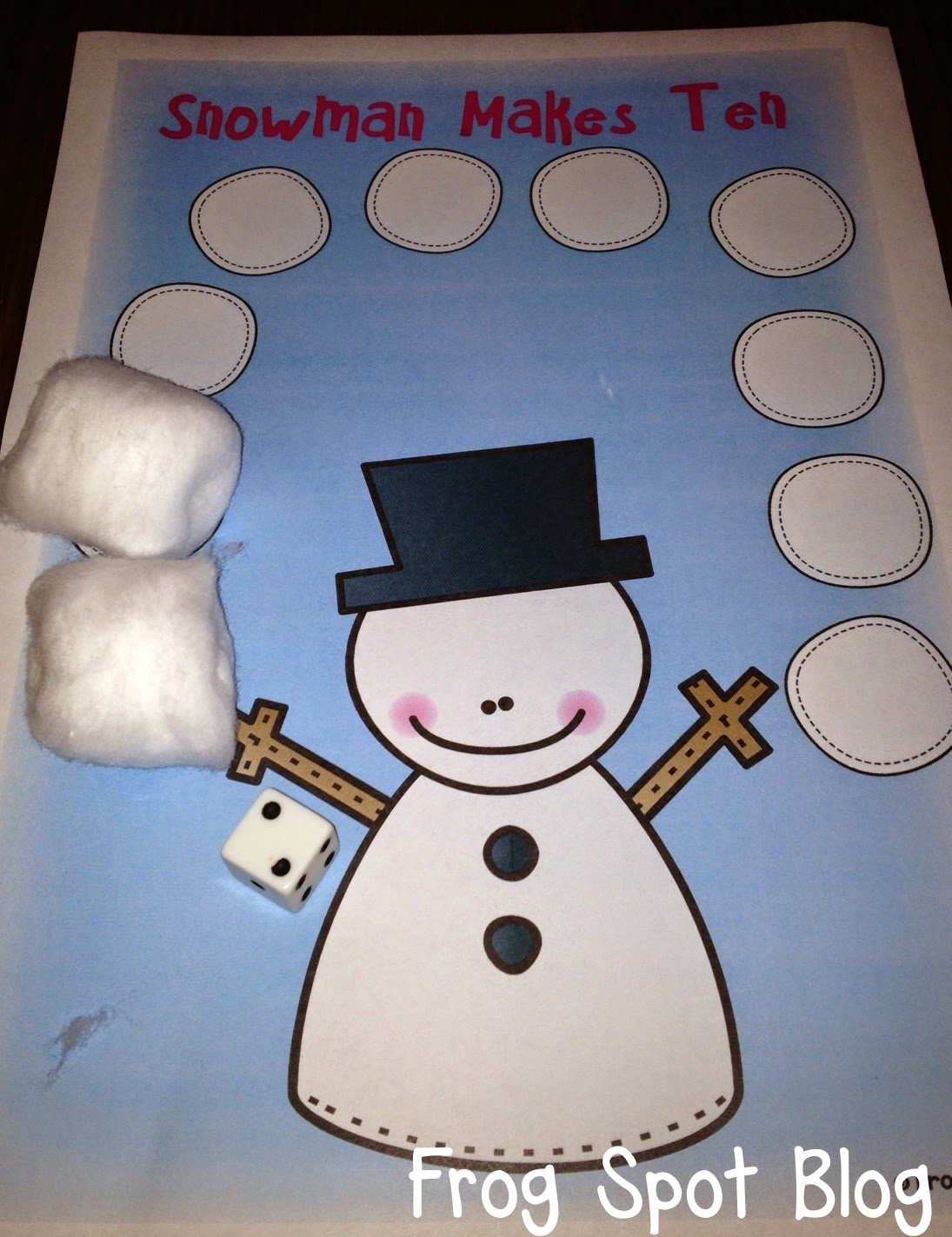 snowman activities for preschool snowmen addition frog spot 242