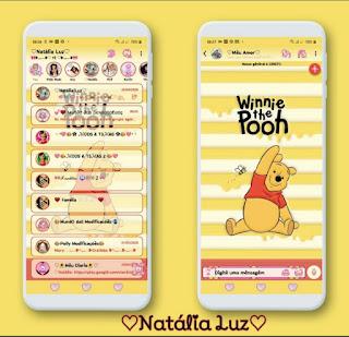 Winnie Pooh Theme For YOWhatsApp & RA WhatsApp By Natalia Luz