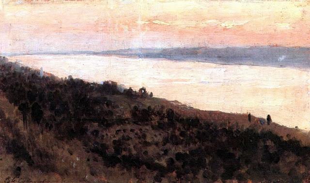 Исаак Ильич Левитан - Вечер. Золотой Плёс (1). 1889