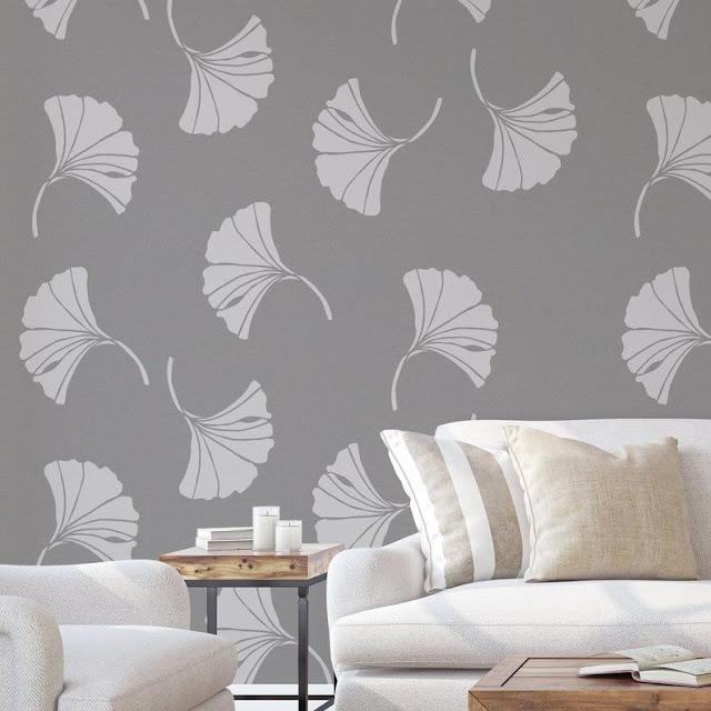Gambar Wallpaper Dinding Ruang Tamu Elegan Terbaru