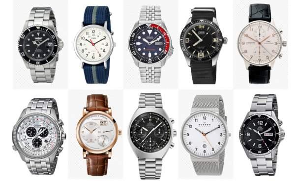 Jenis-jenis jam tangan