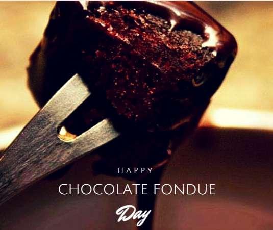 National Chocolate Fondue Day Wishes Pics