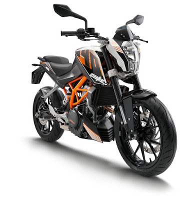 KTM Duke 390 old version