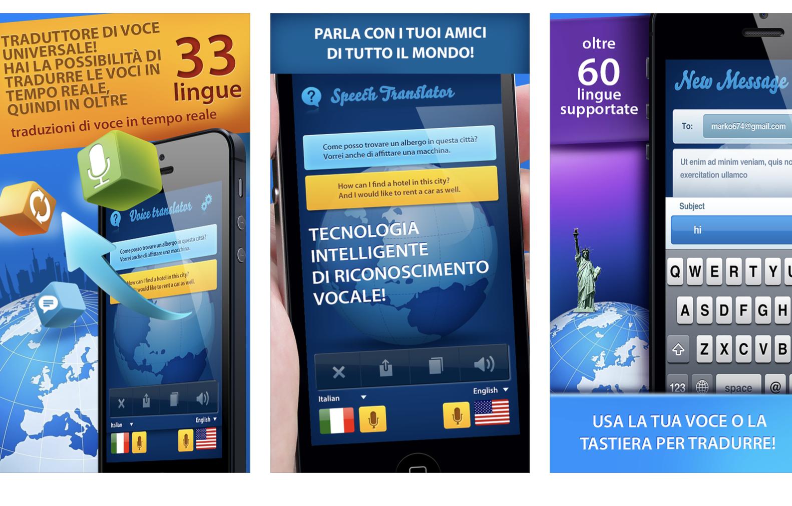 traduttore vocale gratis da