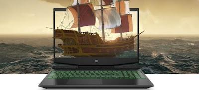 Layar HP Pavilion Gaming 15 2020