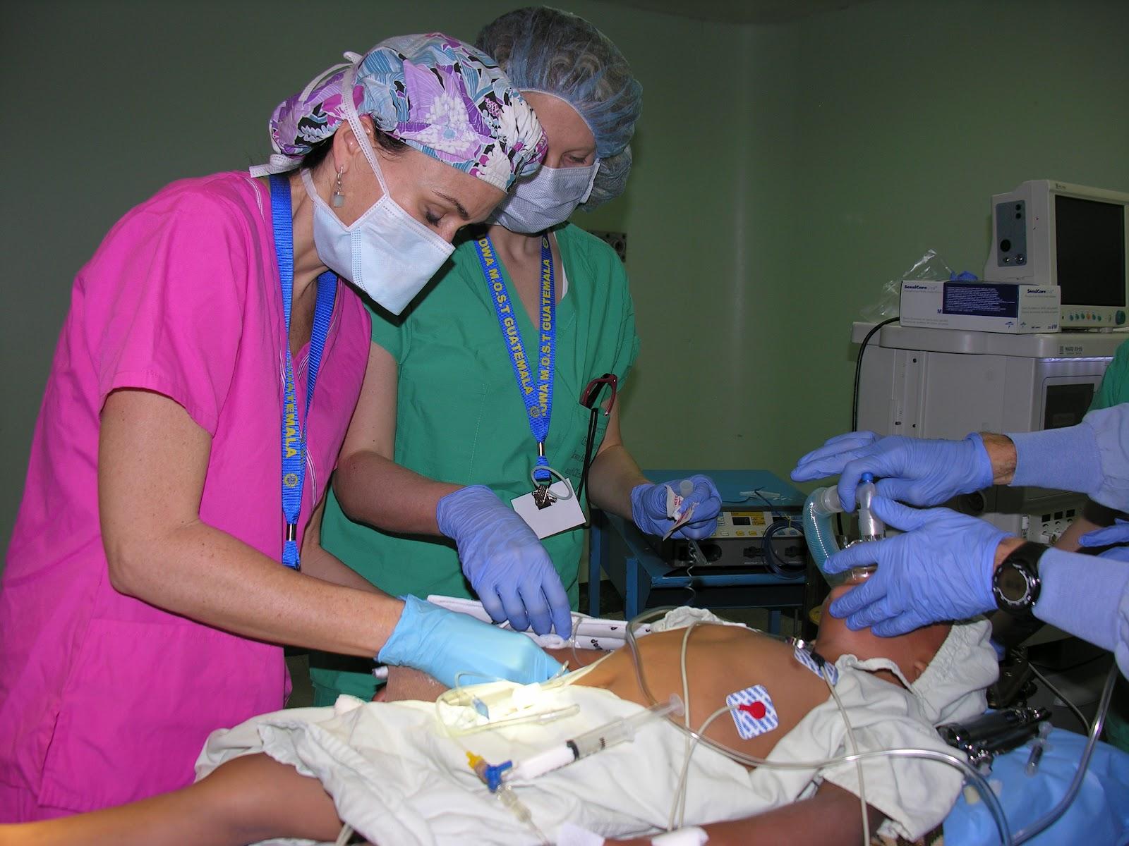 Miles of Smiles in Guatemala Operating Room Nurses