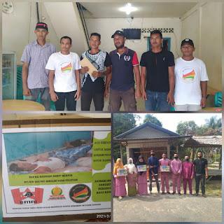 Karang taruna Desa Penuba bersama Relawan Lakukan Penggalangan Dana demi Membantu Pak BASNIAN Penderita Hernia