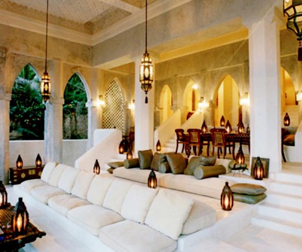 Desain Ruangan Gaya Arab