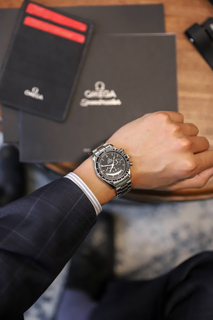 Leo Chan Omega Speedmaster: Watchfinder & Co NYC Luxury Watch Showroom
