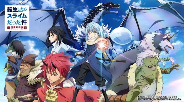 Download Anime Dragon Crisis Tensei Shitara Slime Datta Ken (Episode 1-11) Subtitle Indonesia X265