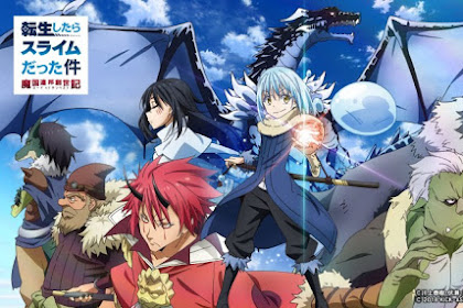 Download Anime Dragon Crisis Tensei Shitara Slime Datta Ken (Episode 1-11) Subtitle Indonesia X265