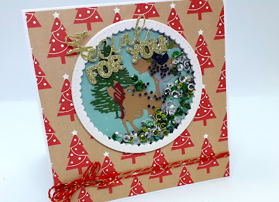 Christmas shaker cards, cute Christmas shaker cards