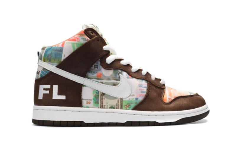 "Nike Dunk High Pro SB ""FLOM"" 2005"