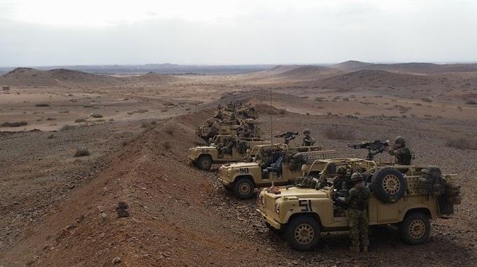 النظام المغربي يستعد لهجوم عسكري ضد الصحراء الغربية كإستراتيجية للتغطية على الأزمات والخلافات الداخلية الخطيرة.