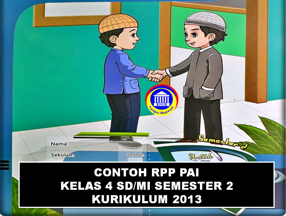 Contoh RPP 1 Lembar Kelas 4 SD/MI